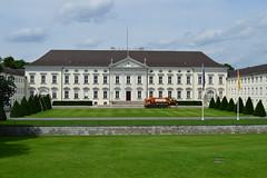Bellevue Palace (Schloss Bellevue) (fletcherd5) Tags: europeanunionflag europeanunion flags hedges bellevuepalace schlossbellevue presidentofgermany president