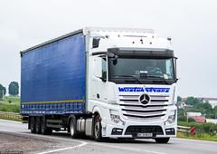 MB Actros 1845 MP4 BigSpace / Westukrtrans (UA) (almostkenny) Tags: truck bc ukraine camion mercedesbenz mb mp4 ua lkw 1845 actros bigspace ciarwka westukrtrans mpiv bc0498ex