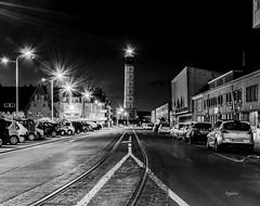 Calais (regis.muno) Tags: calais nikond7000 nordpasdecalais nord pasdecalais nuit photodenuit photonoirerblanc blackandwhitenbbwcalais le portle phare france
