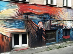 Wrocaw, 2016. (difficiles) Tags: street art poland polska city wrocaw wroclaw scream krzyk edvard munch painting