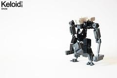 Keloid - Drone (Devid VII) Tags: keloid miltech weapons platform blr big lazy robot mecha mech devid vii drone lego moc war wars troopers trooper military drones minifigs vfx youtube k3loid devidvii