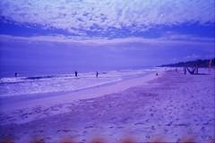 playa (MitchBoudreau) Tags: outside mexico trip film disposable disposablecamera end 35mm burn color purple