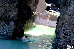 Natural Pool (Federico Boaretto) Tags: spain ascatedrais pool lowtide beach rocks arch cliffs