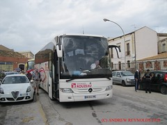 2015 1011 01 MERCEDES TOURISMO VOYAGES ROUZEAU CORBIGNY FRANCE IN SYRACUSE (Andrew Reynolds transport view) Tags: streetcar transport mass transit urban rural bus coach diesel passenger omnibus europe italy sicily 2015 1011 01 mercedes tourismo voyages rouzeau corbigny france in syracuse