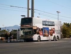 Las Vegas CityBus (Flame1958) Tags: lasvegas lasvegasbus lasvegascitybus mobmuseum 111112 1112 2012 streetbus wrightbus deucebus deuce sincity sincitybus thestrip stripbus strip stripnorthbound nevada publictransport nevadapublictransport lasvegaspublictransport 0421