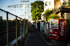 Evening/Alley (yasu19_67) Tags: evening alley sunset sunlight shadow bokeh atmosphere photooftheday filmlook filmlike digitaleffects sony7ilce7 ebcfujinon50mmf14 50mm xequals xequalscolorslidefilms   hankyu