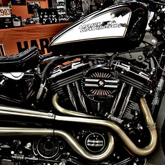 harley davidson (archifra -francesco de vincenzi-) Tags: archifraisernia francescodevincenzi motocicletta motorcycle moto motorbike harleydavidson square carré minimalart minimalism minimalismo motore motodays2016