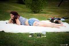 Douceur du rveil (AngelsPixel) Tags: tatoo tatouage sieste campagne portrait rveil sommeil