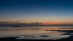 Atardecer en Colonia (Daniel Alejandro Alves) Tags: sunset atardecer colonia del sacramento uruguay nikon d5500 18140mm beach sun sol playa blue hour hora azul horaazul bluehour invierno winter