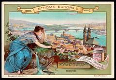 Liebig Tradecard S557 - The River Danube (cigcardpix) Tags: tradecards advertising ephemera vintage liebig chromo