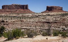 pair 'o buttes (democritus21) Tags: canyonlandsnationalpark rockformations utah buttes geology sandstone canyonlands ut usa