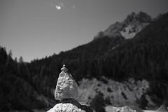 Hornussen; Driving Range (Toni_V) Tags: m2400883 rangefinder messsucher digitalrangefinder leica leicam mp typ240 35lux 35mmf14asph 35mmf14asphfle summiluxm blackwhite monochrome schwarzweiss bw silverefexpro2 sep2 niksoftware valscharl alps alpen graubnden grisons grischun switzerland schweiz suisse svizzera svizra europe dof bokeh scharlscuol toniv 2016 160822 hornussen drivingrange