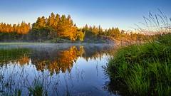 Storavatnet, Norway (Vest der ute) Tags: g7x norway rogaland ryksund waterscape landscape trees refections mirror fav25