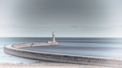 Roker Pier (munkehmans) Tags: beach coast coastline coatline northeast northeastengland northern roker rokerlighthouse rokerpier sea seaside seasky sky sunderland tyneandwear waves wearside