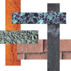 238 | 365 | V (Randomographer) Tags: project366 rock color blocks conceptual geometric abstraction concrete photoshop layered texture shape space 238 366