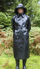 Weathervain SBR (mike_in_a_mac) Tags: mackintosh raincoat rubber souwester