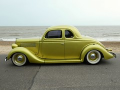 1937 Ford Business Coupe (Peter M Garwood) Tags: felixstowe prom nasc streetcar customcar