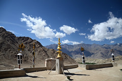 View from Likir Gompa (dave beere) Tags: india ladakh buddism buddah monastery gompa