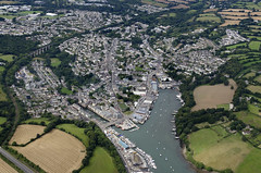 Penryn in Cornwall aerial image (John D F) Tags: cornwall falmouth riverfal aerial aerialphotography aerialimage aerialphotograph aerialimagesuk aerialview droneview penryn