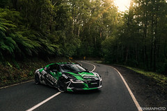 Armytrix Australia (VinhmanPhoto) Tags: green forest cars car armytrix exhaust audi gold r8 australia forza victoria melbourne vinhmangalino vinhmanphoto vinhman