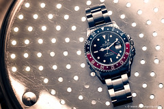 GMT (Simon Greig Photo) Tags: 16710 closeup gmt gmtmasterii macro rolex studio swiss timepiece watch
