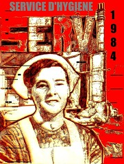 sh nurse4 (mc1984) Tags: mc1984 servicedhygiène 1984 nurse red sickartist