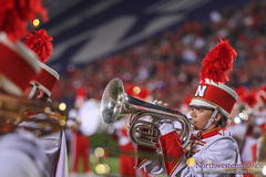 "Thanks to @UNLbands For Sharing #B1G ""Nebraska 5-0"" Fun! (NUbands) Tags: b1gcats b1gbands chicago evanston huskermarchingband illinois lincoln numb nebraska northwestern northwesternuniversity northwesternuniversitywildcatmarchingband band baritonehorn marchingband music students"