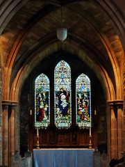 Brecon, Powys (Oxfordshire Churches) Tags: brecon aberhonddu powys wales cymru panasonic lumixgh3 uk unitedkingdom johnward churches anglican churchinwales cathedrals stainedglass memorialwindows thomasmorgan lordmayoroflondon powellsons whitefriarsltd listedbuildings gradeilisted