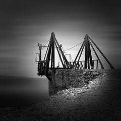 Loading Bridge (Minas Stratigos) Tags: envisionography kimolos greece fine art bw black white sony a7rii zeiss 55mm nd long exposure