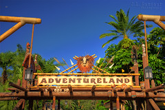 Adventureland Entrance - Disney's Magic Kingdom (J.L. Ramsaur Photography) Tags: jlrphotography nikond7200 nikon d7200 photography photo lakebuenavistafl centralflorida orangecounty florida 2016 engineerswithcameras magickingdom disneysmagickingdom photographyforgod thesouth southernphotography screamofthephotographer ibeauty jlramsaurphotography photograph pic waltdisneyworld disney disneyworld mooninshot adventureland waltdisney happiestplaceonearth wheredreamscometrue magical tennesseephotographer imagineering adventurelandentrance waltdisneyworldresort hdr worldhdr hdraddicted bracketed photomatix hdrphotomatix hdrvillage hdrworlds hdrimaging hdrrighthererightnow moon bluesky deepbluesky beautifulsky sky skyabove allskyandclouds arrows skulls tikitorches ropes palmtrees lanterns lamps