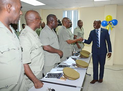 Correctional Officers Participating in Multinational Training Programme