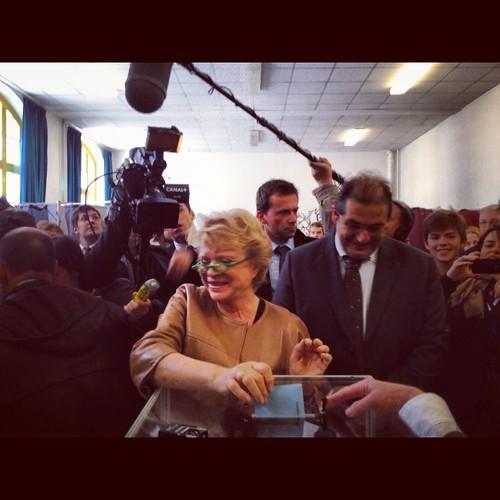 Eva Joly a voté