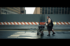 9th Avenue (Dj Poe) Tags: street new york city nyc cinema ny west color photography dj manhattan candid side epson cinematic seiko poe f4 2012 rd1 skopar 21mm voigtlandr