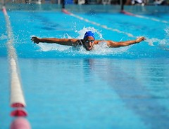 200m butterfly (sifis) Tags: blue sports water pool sport swimming swim butterfly championship nikon action greece 70200 200m sakalak d700 ilission posidonas posidonasilision