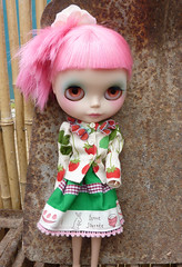 I love our new strawberries blouse