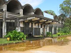 Sihanoukville Railway Station, awaiting restoration. (Barang Shkoot) Tags: new station architecture cambodia sihanoukville khmer railway railwaystation derelict urbex cfrc trr rotfai kampongsom newkhmer khmer1011
