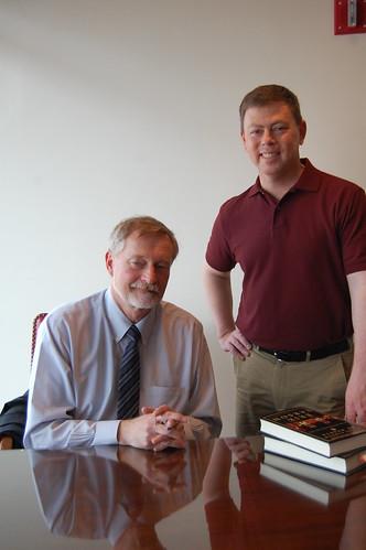 Erik Larson book fan photo