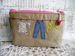 reorganisation ... (monaw2008) Tags: shop pants recycled handmade pouch clothesline applique reused upcycled monaw monaw2008