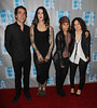 Brent Bolthouse, Kat Von D, Linda Perry, Sara Gilbert The L.A. Gay & Lesbian Center's 'An Evening With Women' at The Beverly Hilton Hotel - Arrivals Los Angeles, California