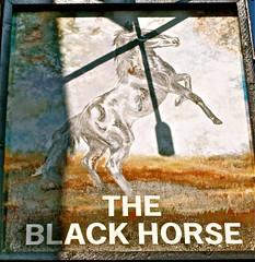 The Black Horse - Moss Bank, St. Helens, Merseyside. (garstonian) Tags: pubs sthelens pubsigns merseyside mossbank greenalls