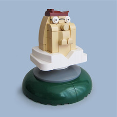 Lego Peter Griffin mini bust (Fredoichi) Tags: sculpture art lego character cartoon animation movies familyguy petergriffin rendition sethmacfarlane fredoichi