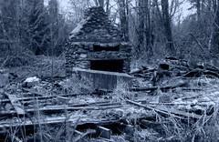 castle greyskull (mighty grand poova) Tags: bw sticks forgotten ruralexploration southsound naturetakenback