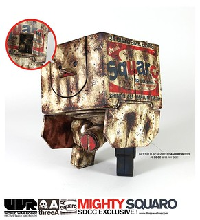 threeA - SDCC 限定MIGHTY SQUARO