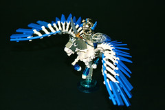 Pegasus (Siercon and Coral) Tags: sea horse castle flying spring wings lego pegasus fantasy knight creature moc avalonia mysticisles