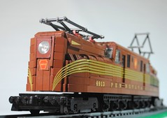Pennsylvania Railroad GG1 (Shuppiluliumas) Tags: lego trains gg1 prr powerfunctions