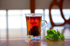 Tea & Mint (Abeer Hussein) Tags: