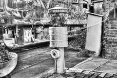 Bahnbetriebswerk Arnstadt (Ralf Krause) Tags: white black station train hydrant germany deutschland thüringen europa erfurt railway zug bahnhof firehydrant rails sw weiss schwarz hdr bundesbahn lok schienen historisch arnstadt reichsbahn historically bahnbetriebswerk federalrailway canoneos600d ralfkrause hdrworlds