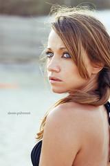 (Alessio Pulvirenti) Tags: blue sea portrait beach girl beautiful canon 50mm model eyes pretty f18 sands ritratto spiaggia emotive ragazza alessio bellissima modella emozione emotivo pulvirenti alessiopulvirenti