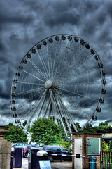 Big Wheel (pepemczolz) Tags: york sky eye dark fairground ferris bigwheel hdr pripyat