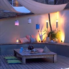 Summertime ! (Muriel Alvarez) Tags: pink summer sun white outside balcony terrasse homedecor outdoorshower
